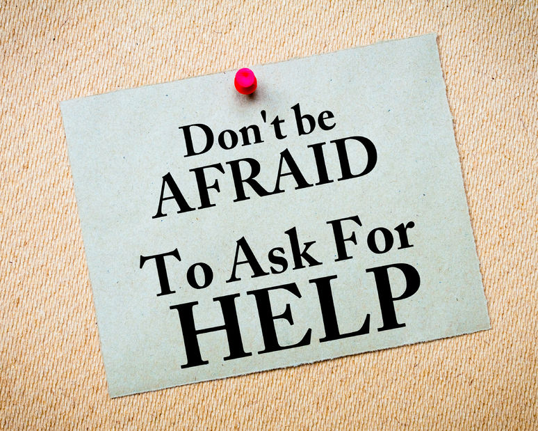 asking for help is strength not a weakness so do you ask when you